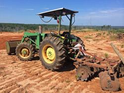 Plowing Dirt